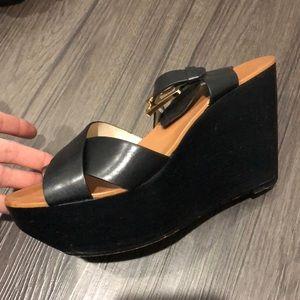 Mk high heel shoes.